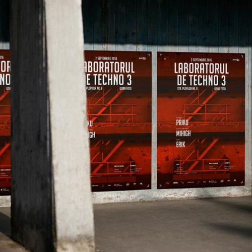Pe 2 septembrie Târgu-Mureșul petrece din nou la Laboratorul de Techno 3