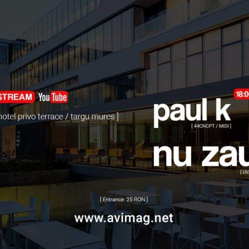 Primul Live Stream marca AVimag la Hotel Privo cu Nu Zău și Paul K