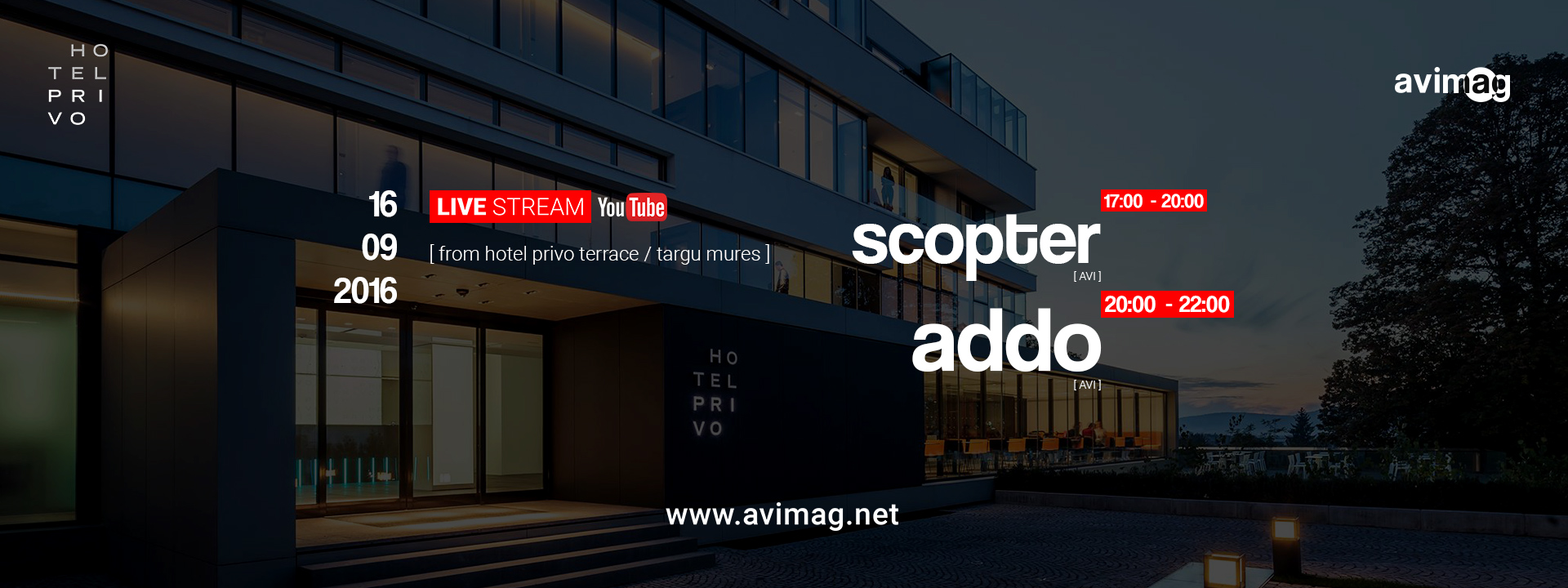 Avimag avimag live stream party cu addo i scopter for Terrace house stream online