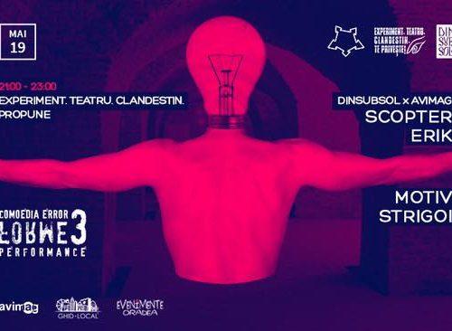 Erik și Scopter electrizează Oradea în weekend!