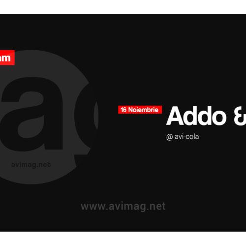 Addo și Resa anunță startul weekend-ului! Diseară e live stream la AVi!