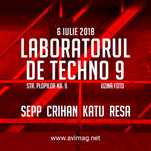 Once you pop you just can't stop! Laboratorul de Techno revine în forță luna viitoare!