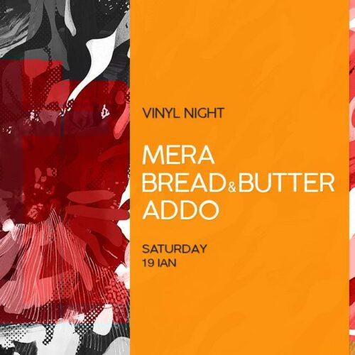 Not too shabby! Addo, Mera și Bread & Butter pun muzică de pe vinyl sâmbătă la Obo!