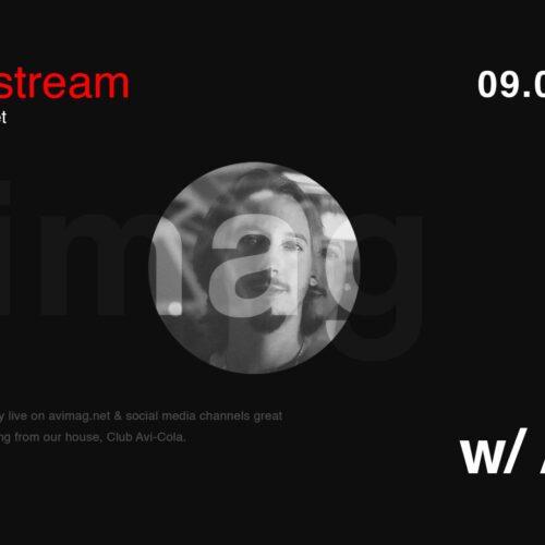 AMO ne încântă joi cu muzică bună la Avimag Live Stream #76