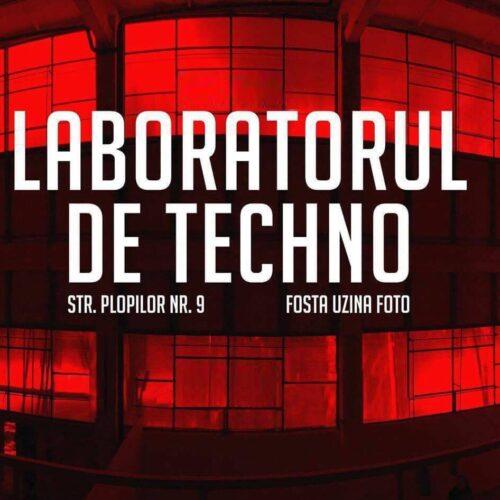 Pe 9 august reîncepe balul! Laboratorul de Techno #15 cu Suciu, Cap, Vygo și Lowkodi!
