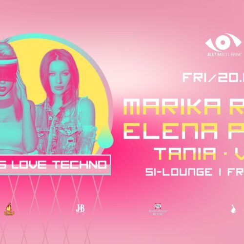 Girls Love Techno x Marika Rossa & Elena Pavla