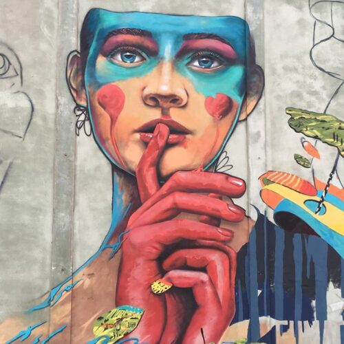 How do we change society through street art? Interview with IRLO