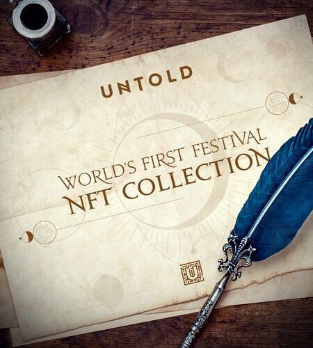 UNTOLD is the first festival in the world that launches an NFT