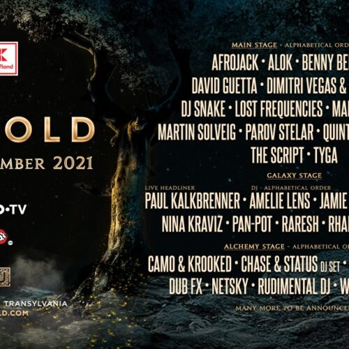 THE UNTOLD MEGAFESTIVAL REVEALS THE FIRST HUGE LINE-UP IN EUROPE FOR 2021!